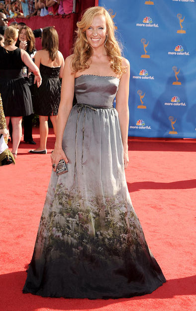 One of my favorite dresses from the Emmys. I think its awesome.