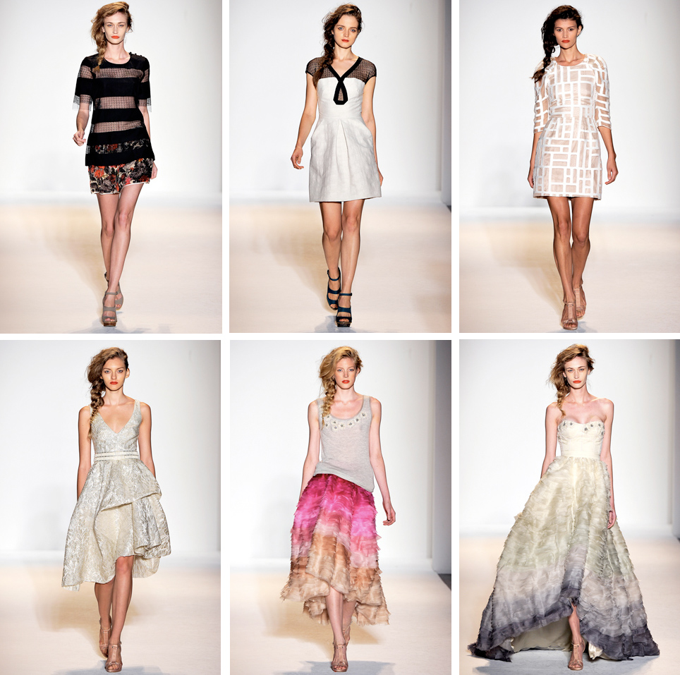 Lela Rose Spring 2011. I looooove this collection.