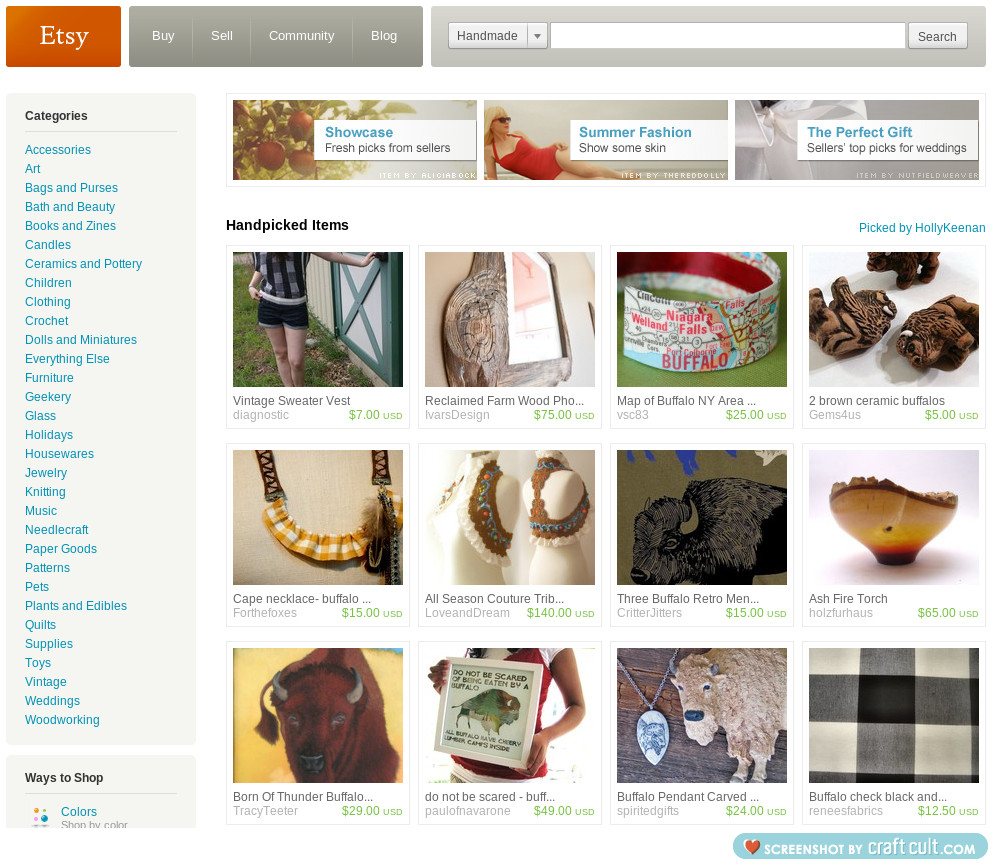 one of my treasury lists was featured on the front page of etsy!!    so excited.