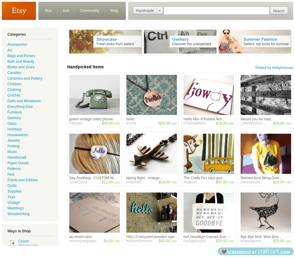 Another one of my treasury lists was featured on the front page of etsy!!!   Congrats to everyone for making the fp and for all the sales!