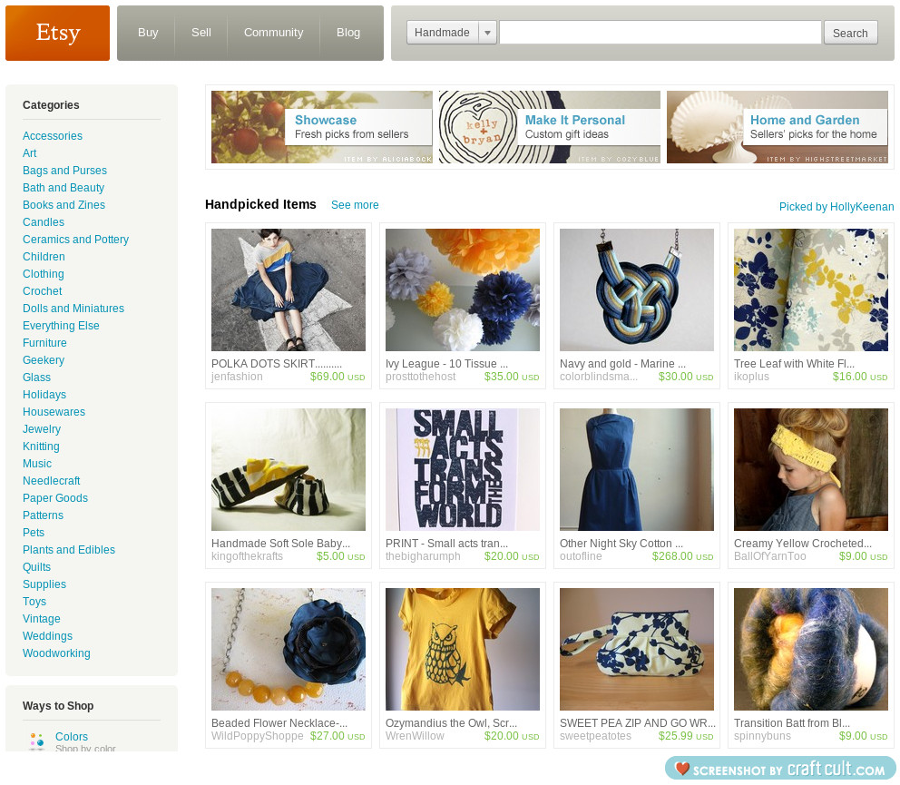 front page again! view all of my treasuries here