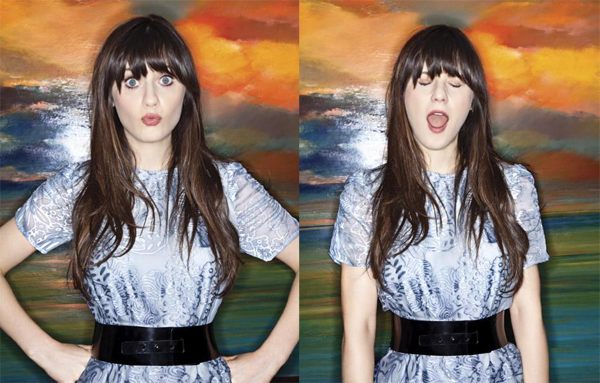 theviewfrom: keptmyshortcutstomyself: zooeydeschanel: YRB Magazine (via sheandhim)