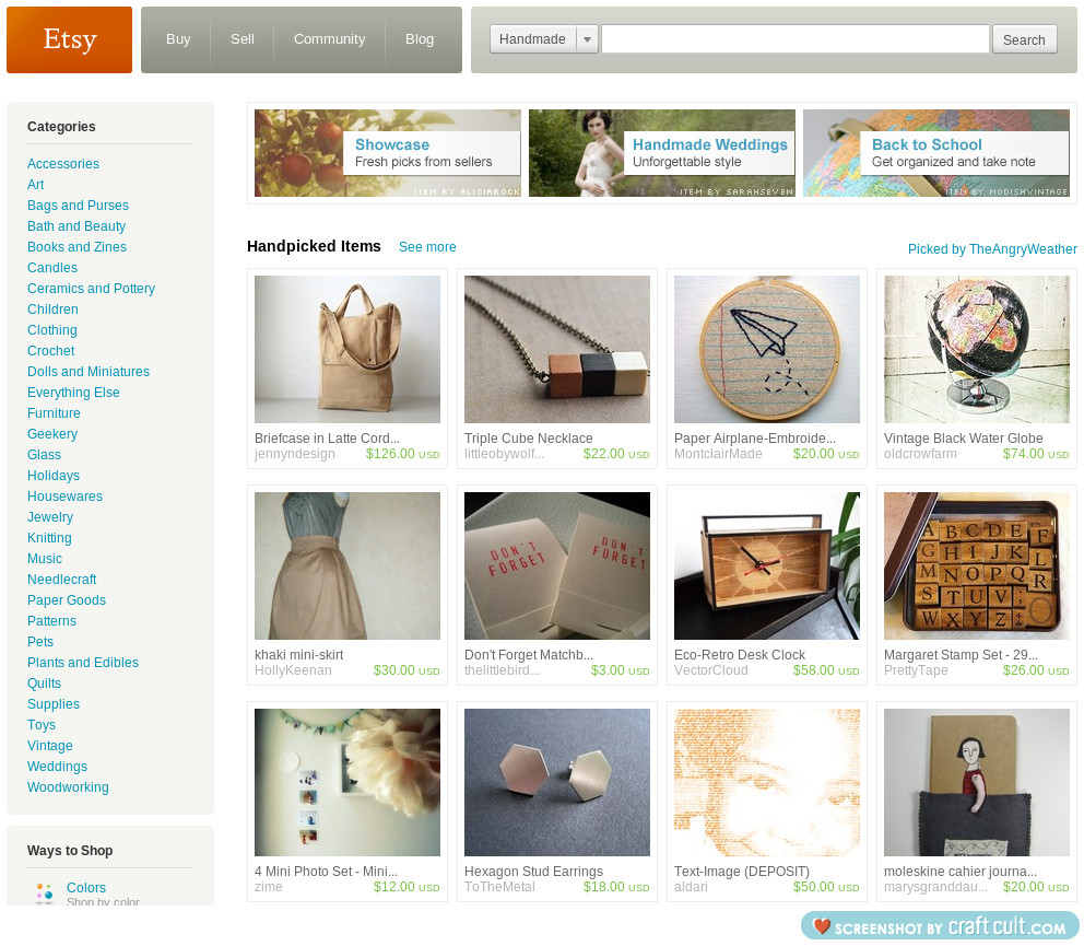 my  Khaki Mini Skirt  made it to the front page of etsy today!!!   thanks to  The Angry Weather !!!