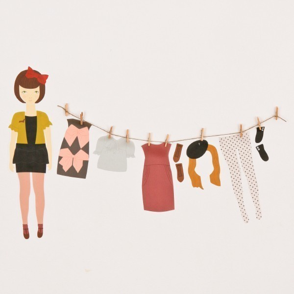 lovemaestore 's Dress Up Doll wall decals