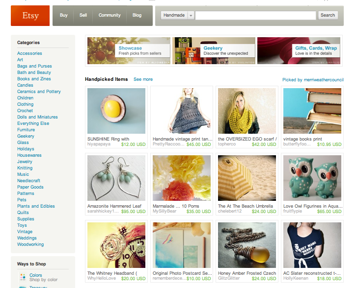 My  AC Slater Reconstructed Tee  was on the front page of Etsy thanks to  merriweathercouncil ! And even better? It Sold!