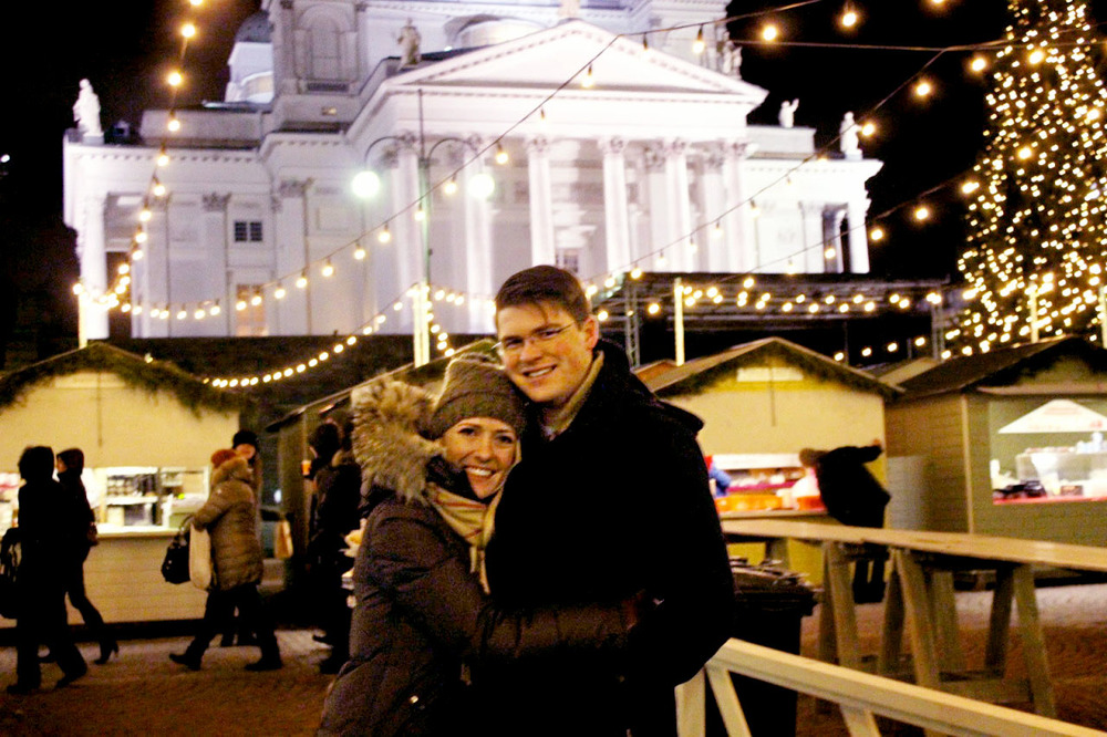 At home in Helsinki's Christmas Markets