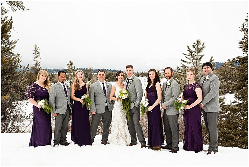Idaho Wedding Party