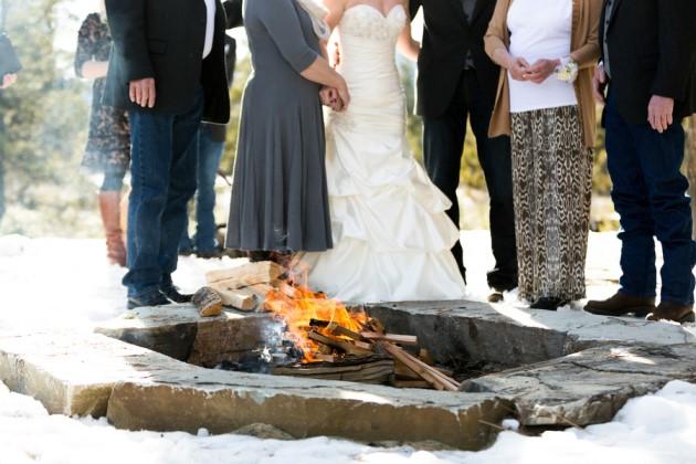 campfire bride