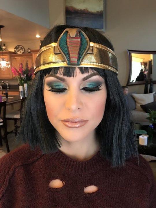 Halloween Look by MNM Makeup Studios