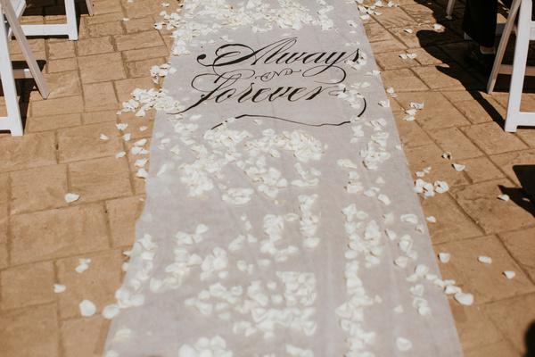 wedding pathway