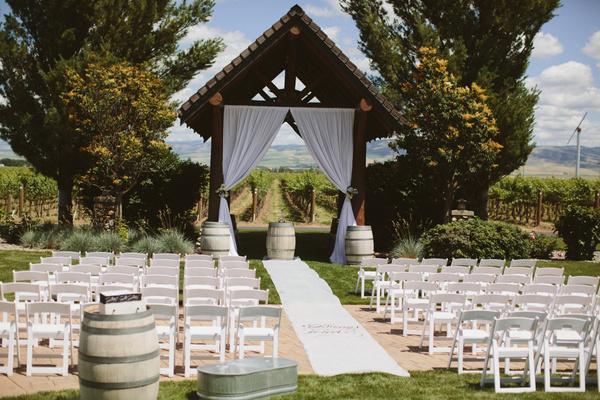 wedding ceremony decor idaho