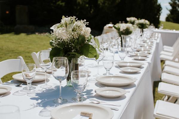 tablescape washington wedding