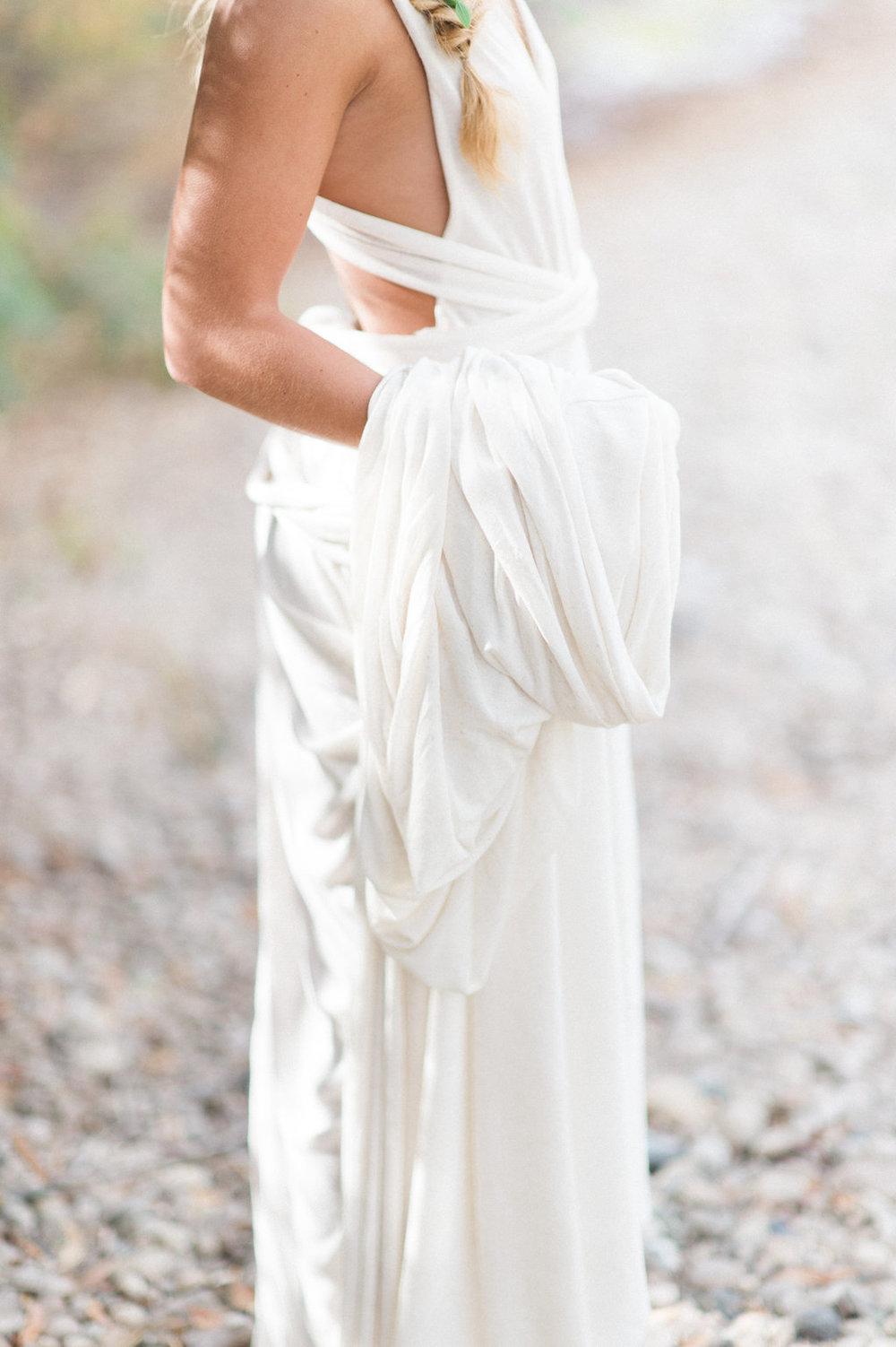 wedding gown boho bride