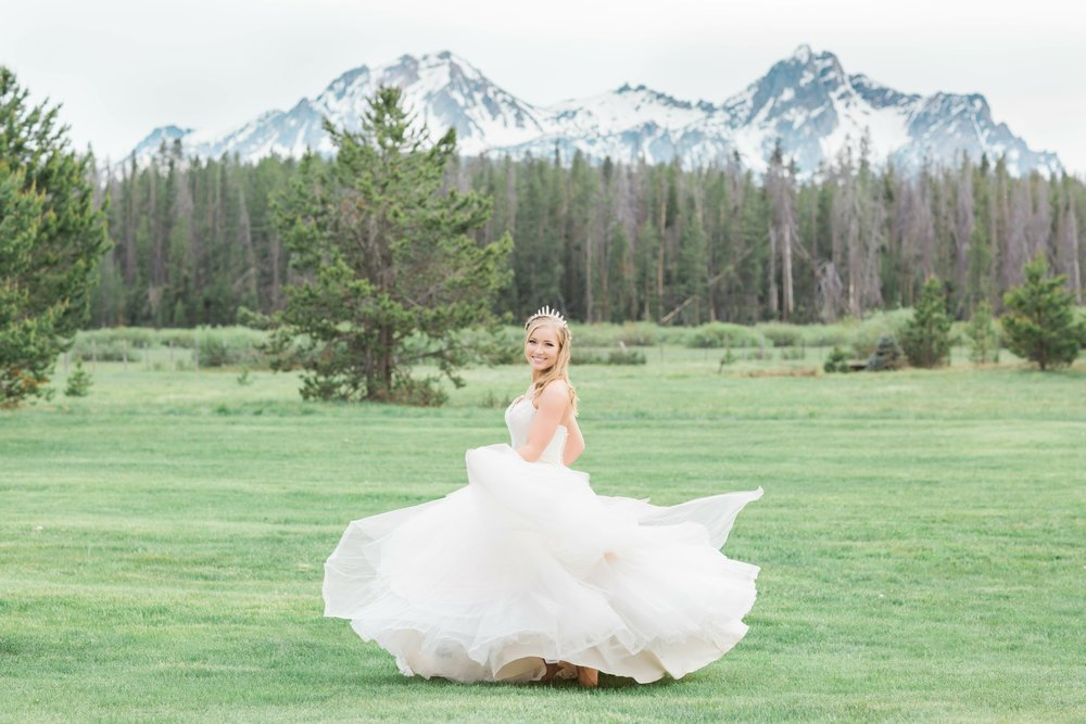 Sawtooth Wedding