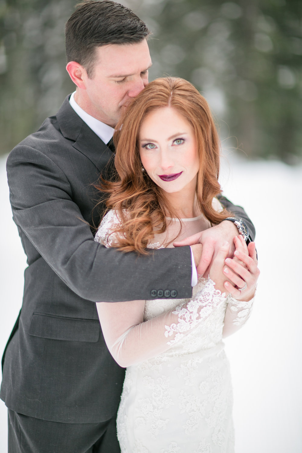 we sleighed our vows