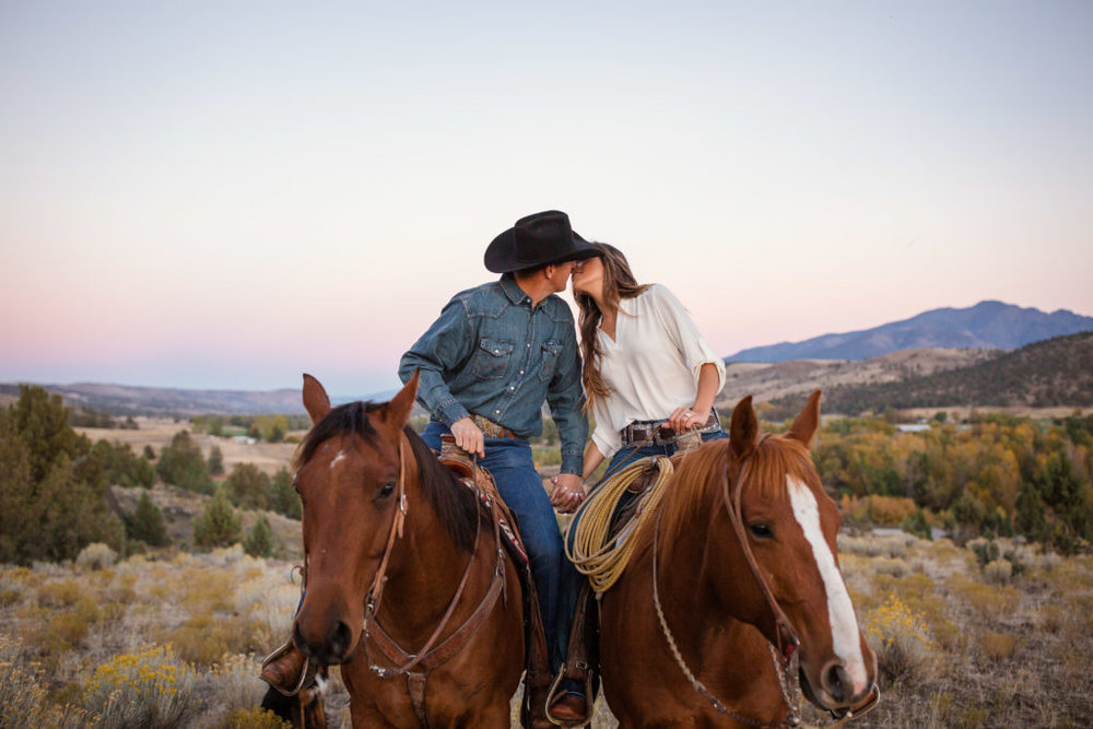 country girl engagement