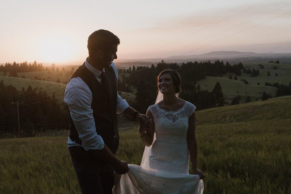 wedding in Moscow Idaho