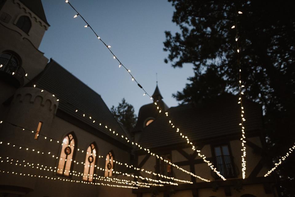 idaho wedding lighting