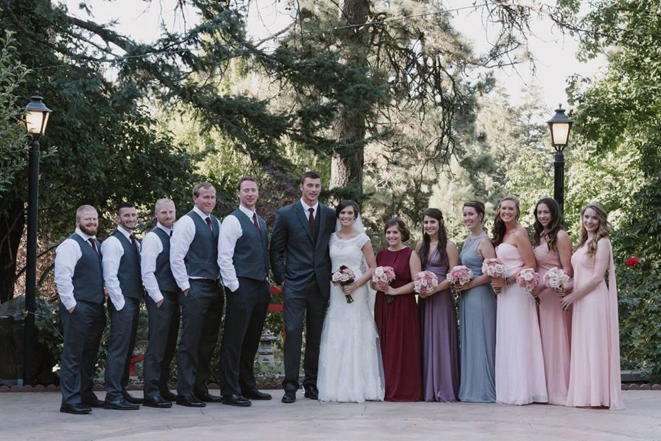 bridal party idaho