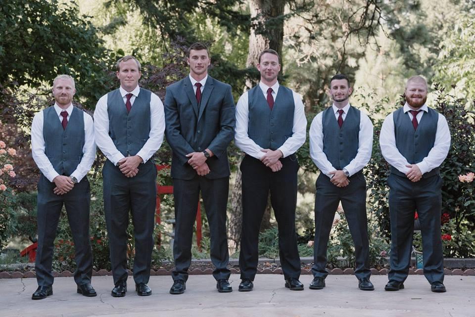 groomsmen in Moscow Idaho