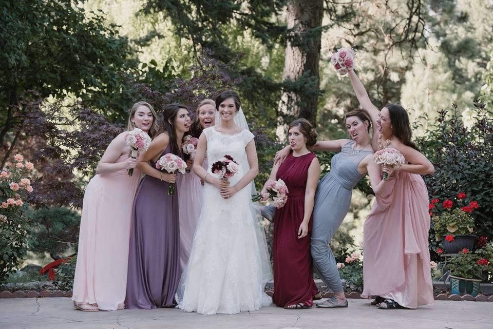 bridesmaids moscow idaho
