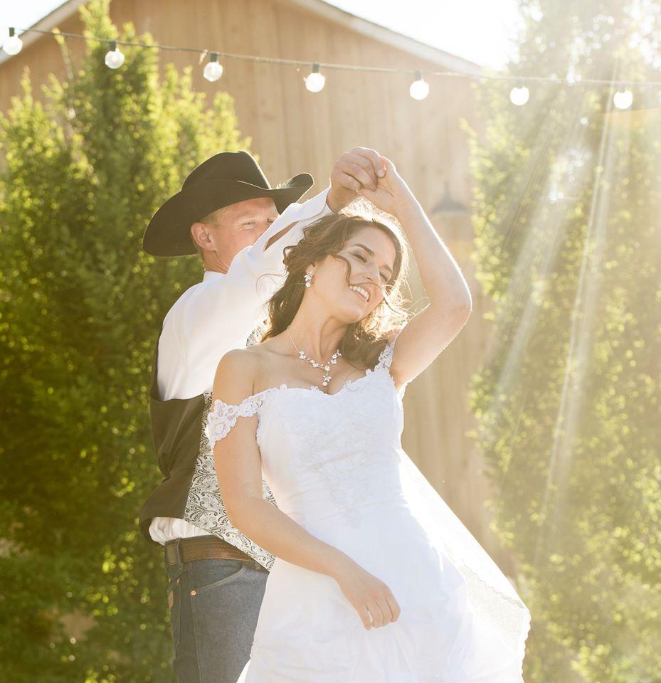 idaho cowboy wedding