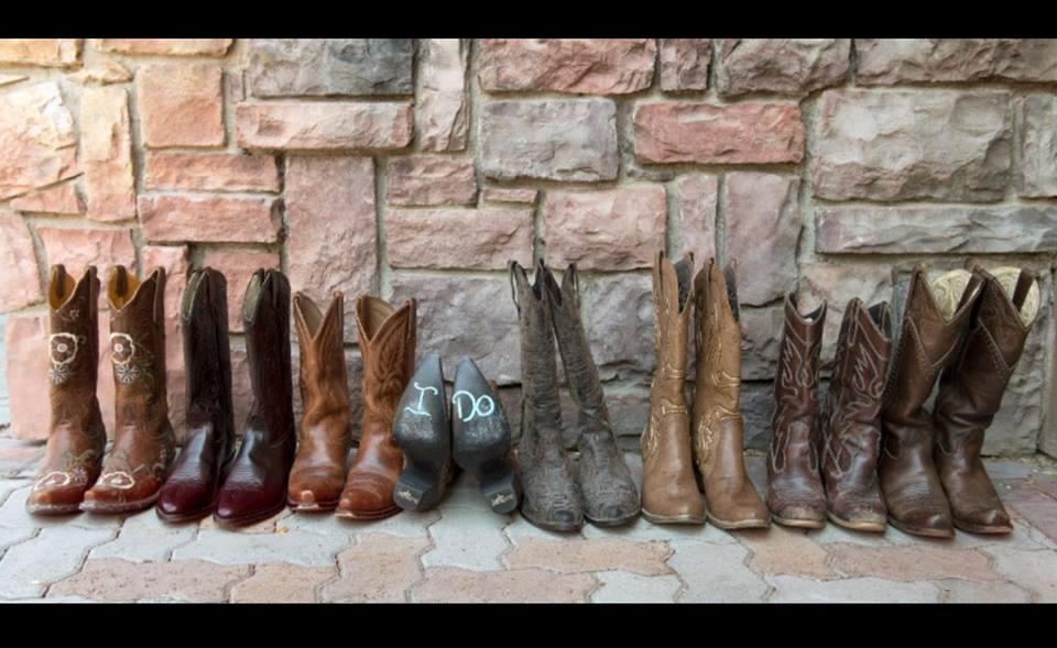 wedding cowboy boots idaho