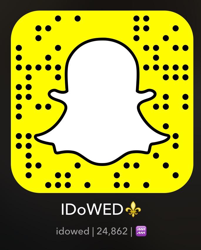 IDoWED Snapchat