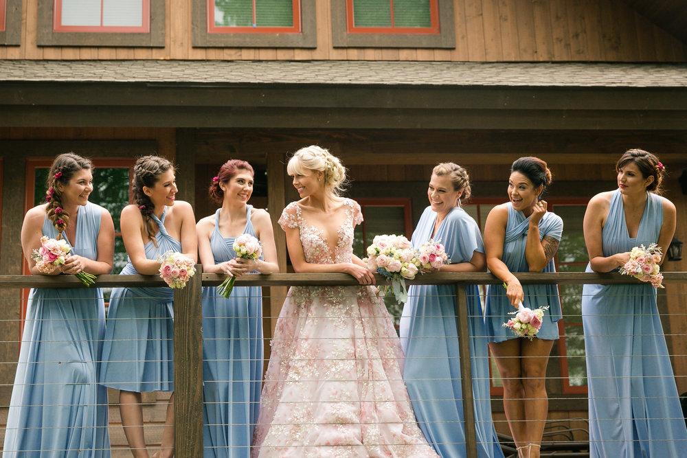 pantone bridesmaids