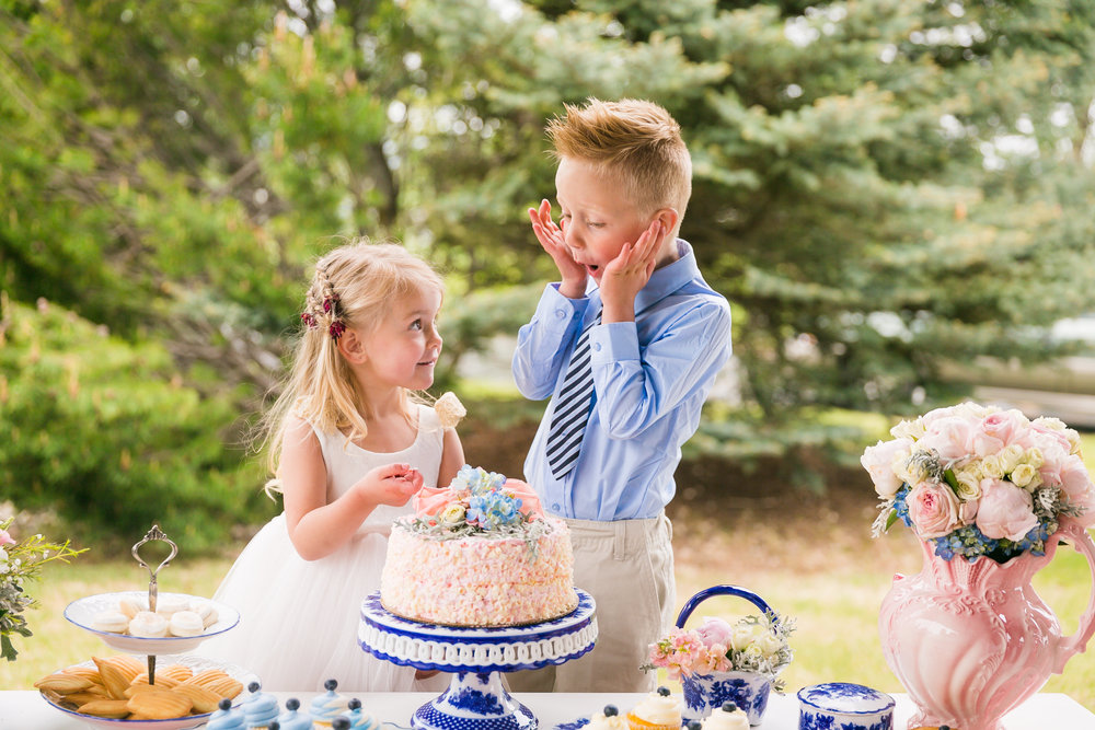flowergirl and Ring bearer
