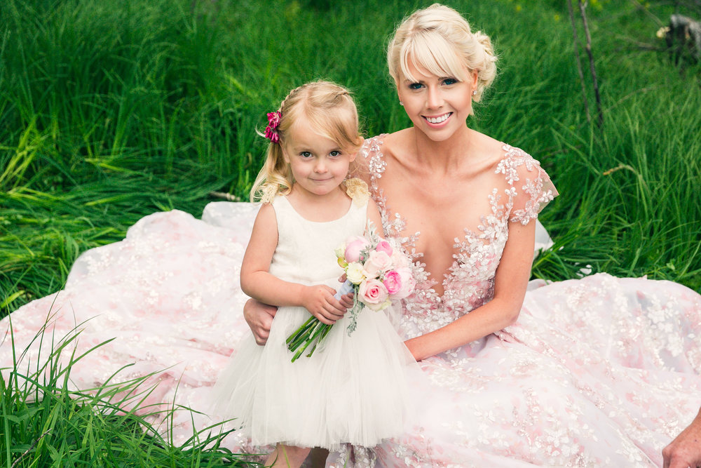 Flower girl dress from LaNeige Bridal