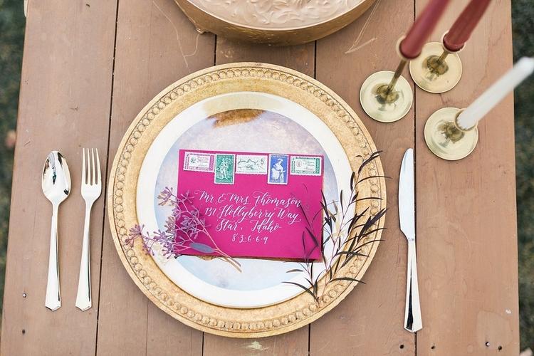 Idaho wedding invitations