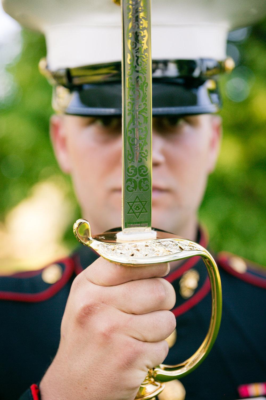 military sword wedding