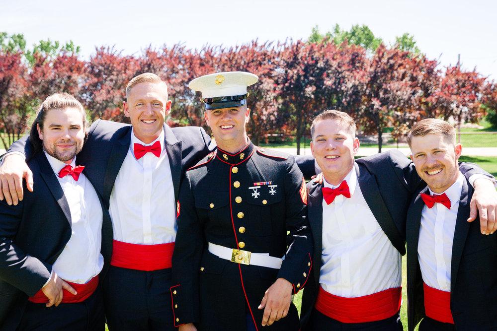 military boys