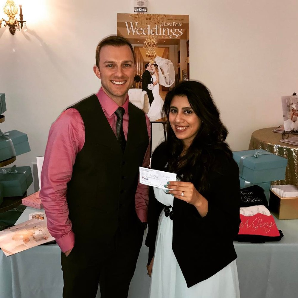 "dj_eric_rhodesHelen won $500 to spend on any vendor of her choice at ""A Vintage Wedding Show"" put on by @iloveboiseweddings and she chose my DJ/MC services. With a lot of great and talented event professionals to choose from, I'm truly honored. #RhodesEntertainment dj_eric_rhodes• • • • • • #weddinggown #marriage #weddingday#celebrate #instawed #instawedding#congrats #boise #love #party #partymusic#music #mccallwedding#sunvalleywedding #dj #fun #boiseidaho#bridesmaids #weddingparty #amazing#boisedj #boisewedding #idaho #bride#groom #boiseevents #djlife #weddingdj#idahowedding"