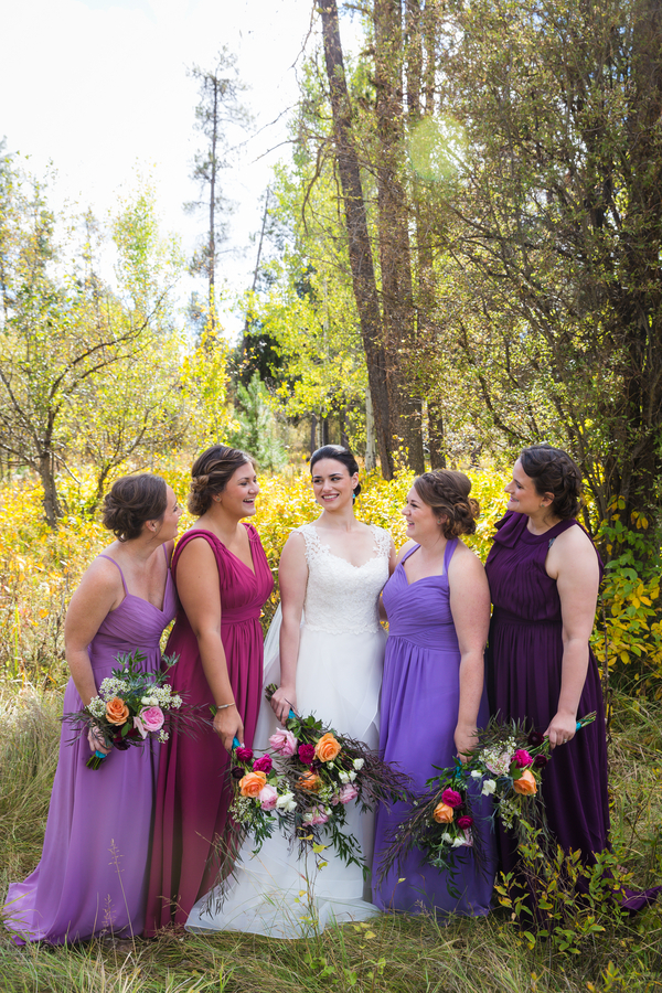 bridesmaids colors