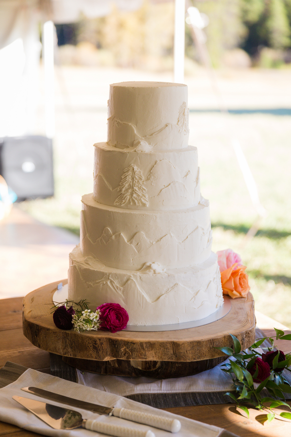 Idaho Wedding Cake