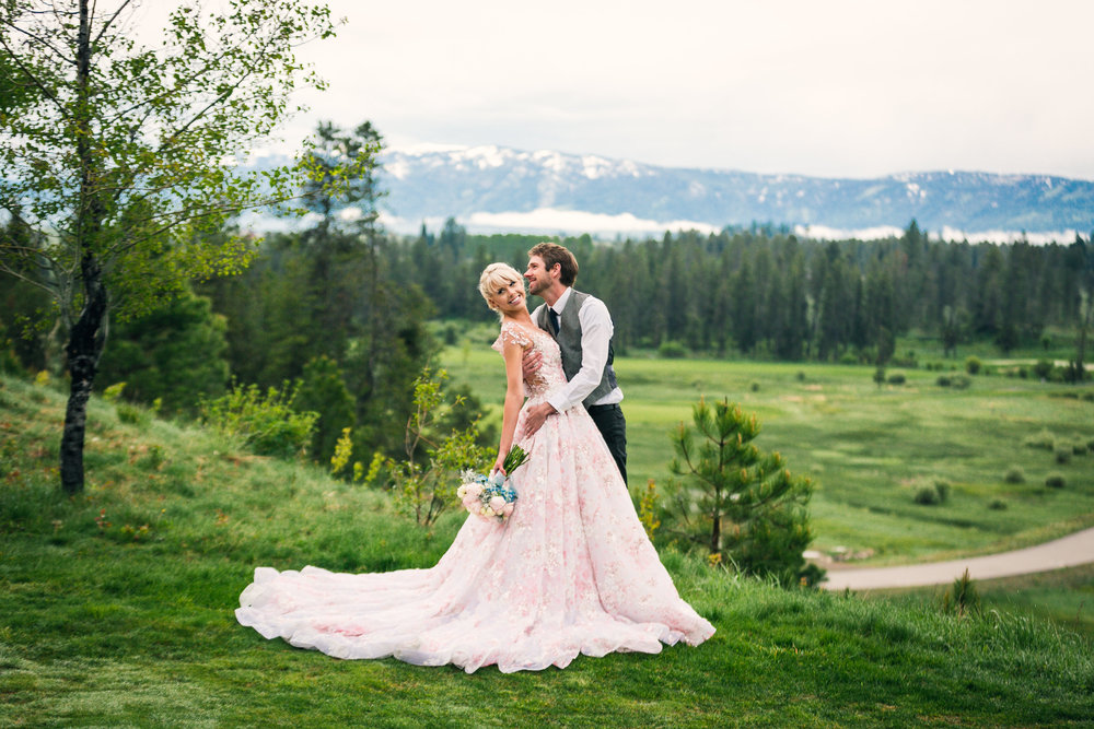 Spring Wedding Idaho
