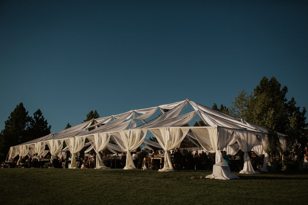 whitetail wedding in McCall, Idaho