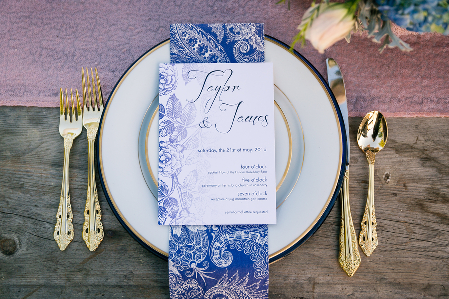 McCall Wedding Invitations from Printshop McCall