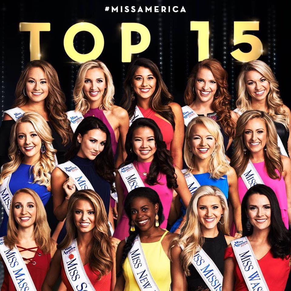 Miss America top 15
