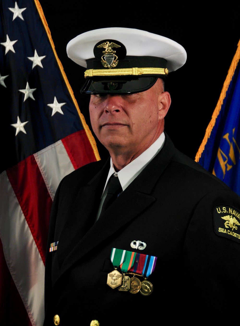 LTJG. Spencer Boyce Commanding Officer LTJG Boyce Joined the unit in 2016 and was appointed the Commanding Officer in 2017.  He has one son in the program and recently retired as a Captain with the California Highway Patrol after 29 plus years serving in a variety of assignments.  He served eight years as a US Marine Corps Sergeant and 2 years as Petty Officer 2nd Class in the US Coast Guard reserve.  LTJG Boyce holds a Bachelor of Science degree in Management, a Masters of Science degree in Criminal Justice and is a graduate of the California POST Command College.  He is a prior Sea Cadet attaining the rank of Petty Officer 2ndClass.