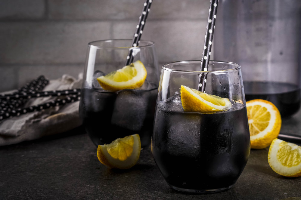 Bamboo Charcoal Black lemonade