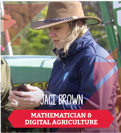 Jaci Brown, Mathematician and digital agriculture
