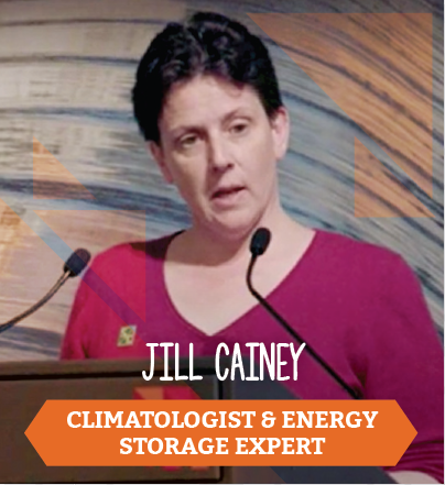 Jill Cainey, Climatologist and Energy Storage Expert