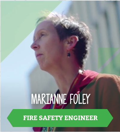 Marianne Foley, Fire Safety Engineer