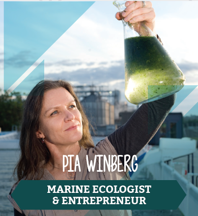 Pia Winberg, Marine Ecologist and Entrepreneur