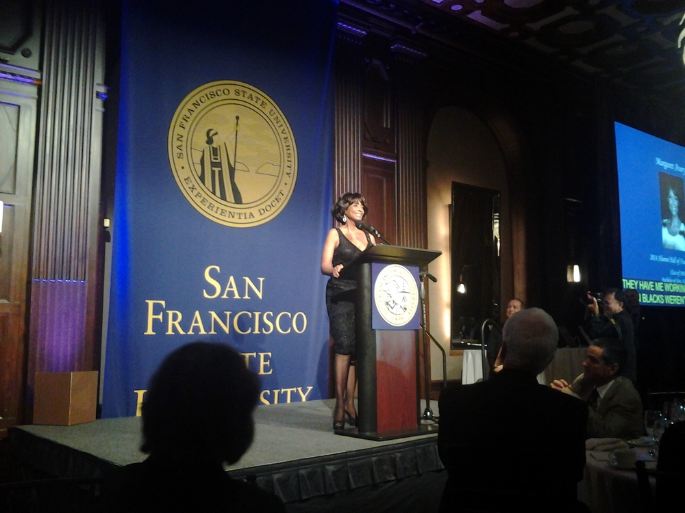 San Francisco State Alumni Hall of Fame Induction