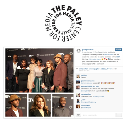 Paley Center [IG] - 12/22/2014