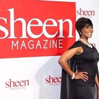 Thank you @SheenMagazine for honoring the blessing of Forty five years as an actor. It truly was a #Legendary Weekend! ❤️ Margaret - Glam - Hair + Makeup - @therealsirtony  Stylist - @LolaWusu Dress - @AidanMattox